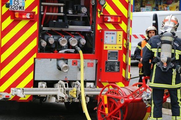 Un jeune homme intoxiqué dans un incendie