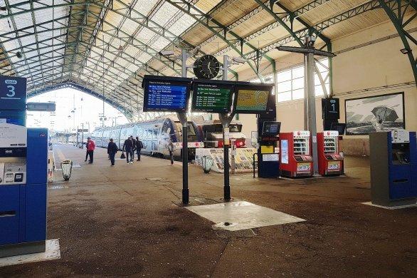 Alerte au colis suspect à la gare,le trafic SNCF perturbé