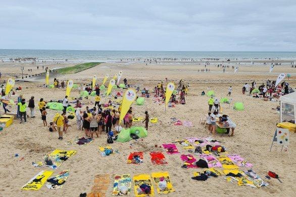 Journée des oubliés des vacances: 5000petits franciliens à la plage