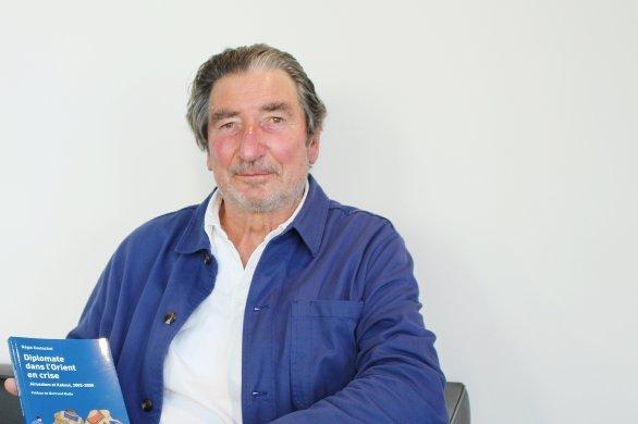 Régis Koetschet, ex-ambassadeur de Franceen Afghanistan