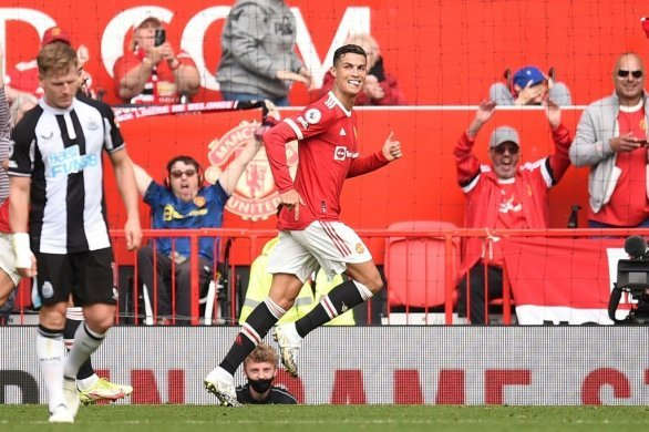 Angleterre: Cristiano Ronaldo buteur face à Newcastle pour son retour à Manchester United
