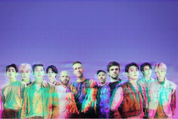 Le nouveau single de Coldplay en duo avec BTS!