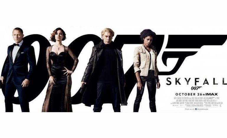 """Box-office du 31 octobre au 6 novembre : """"Skyfall"""" ne désemplit pas"""