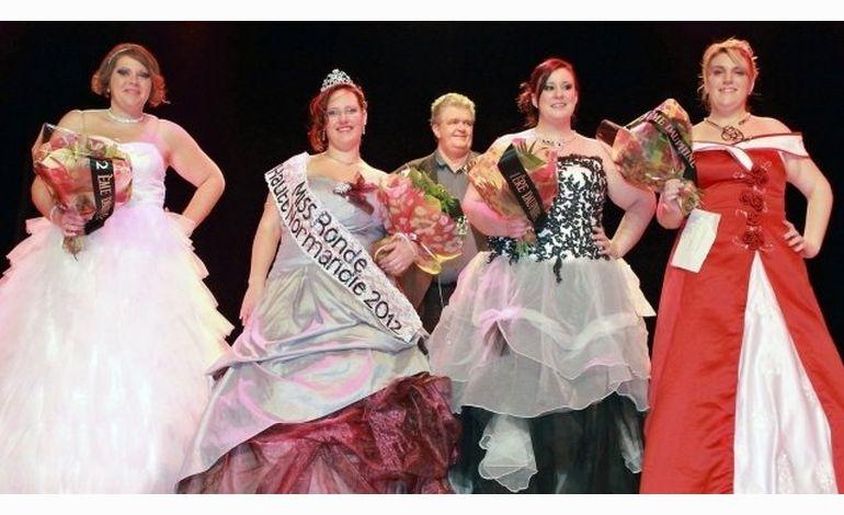 Miss ronde Haute-Normandie est...