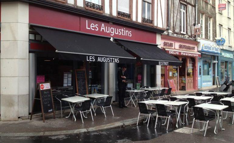 Bonnes tables rouennaises : Les Augustins, place Saint-Marc