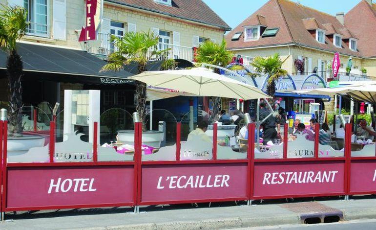 Tables caennaises : L'Ecailler,  près du port de Ouistreham