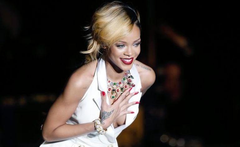 Rihanna, égérie d'une marque de cosmétiques
