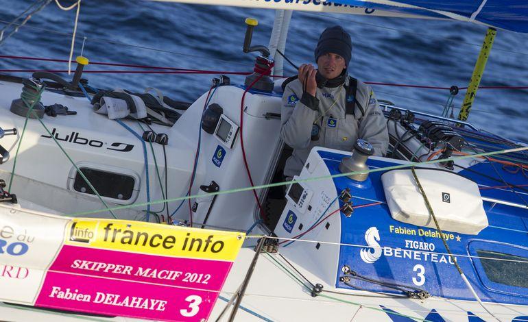 Solitaire : Fabien Delahaye abandonne la 3e étape