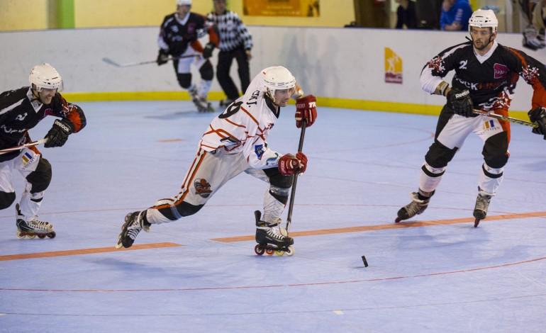 Roller-Hockey : défaite de justesse pour les Spiders