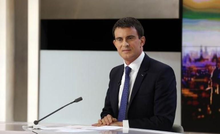 Pacte de responsabilité: plus de la moitié des salariés concernés d'ici la fin de l'année, espère Valls