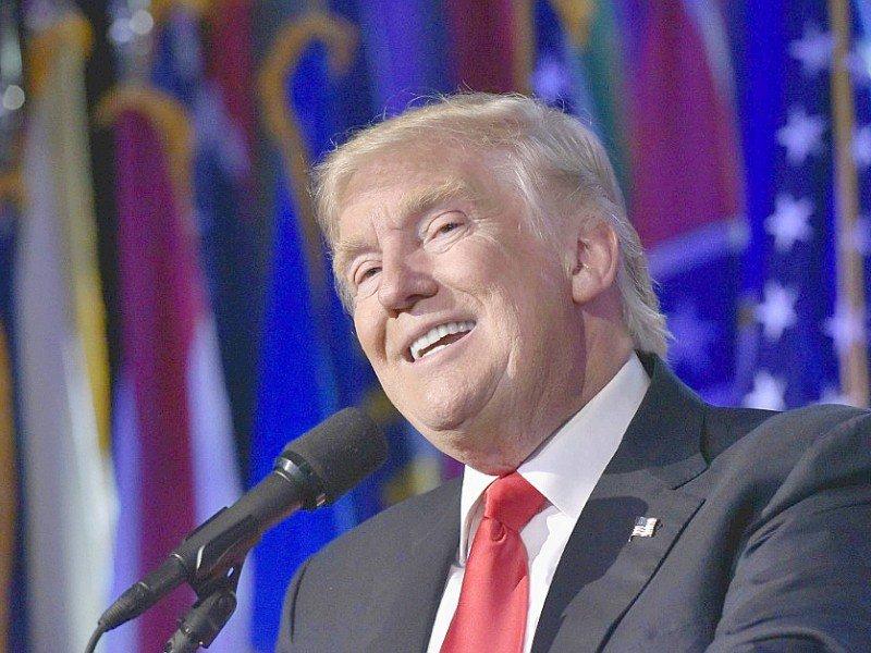 Donald Trump le 9 novembre 2016 au Hilton Midtown à New York    MANDEL NGAN [AFP/Archives]