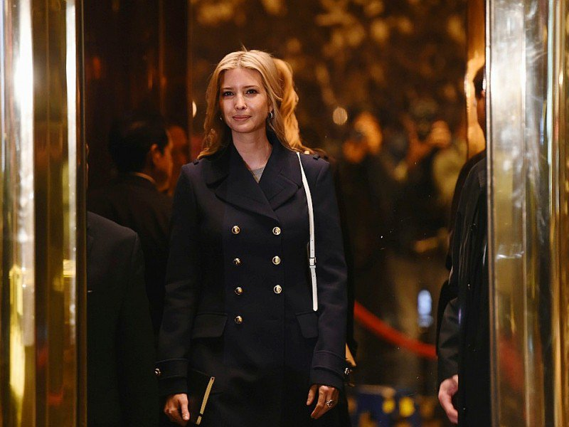 Ivanka Trump à son arrivée dans la Trump Tower le 21 novembre  2016 à New York    © TIMOTHY A. CLARY [AFP/Archives]