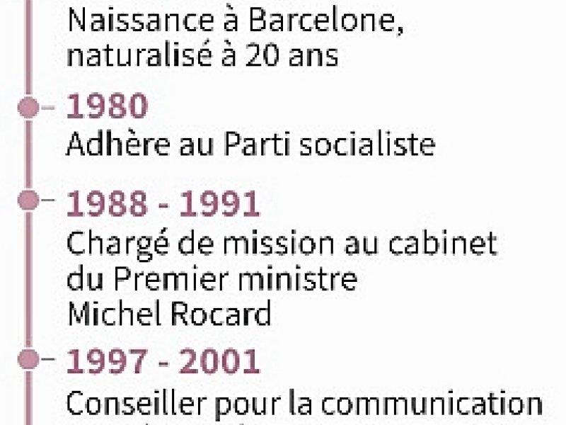 Manuel Valls - Vincent LEFAI, Paz PIZARRO, Valentina BRESCHI [AFP]