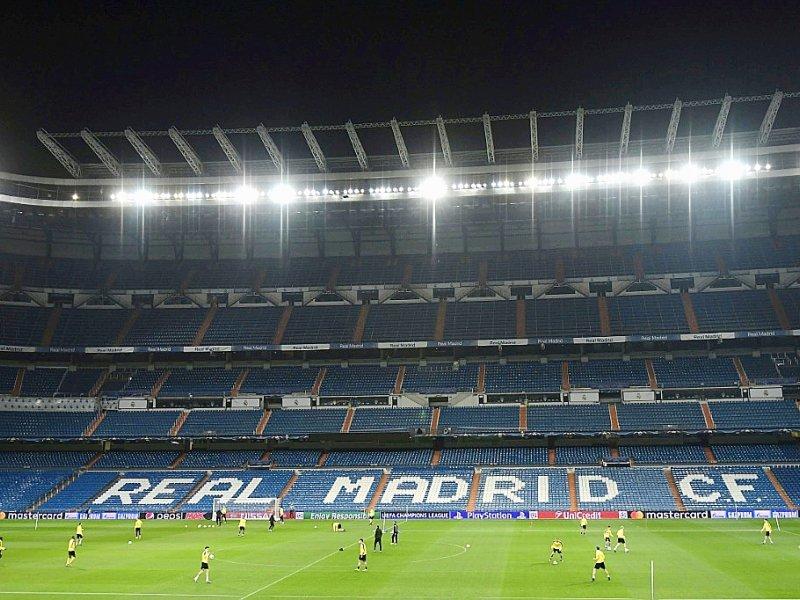 Le stade Santiago-Bernabeu où évolue le Real Madrid, le 6 décembre 2016    JAVIER SORIANO [AFP]
