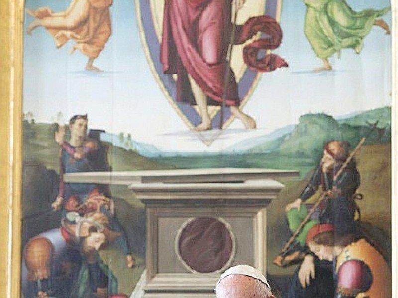 Le pape François rencontre la présidente de Malte Louise Coleiro Preca, le 17 décembre 2016 au Vatican    CLAUDIO PERI [OSSERVATORE ROMANO/AFP]
