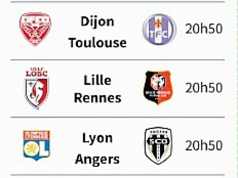 Ligue 1: le programme de la 19e journée