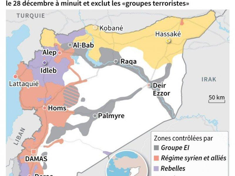 Syrie: annonce de cessez-le-feu    Thomas SAINT-CRICQ, Sophie RAMIS [AFP]