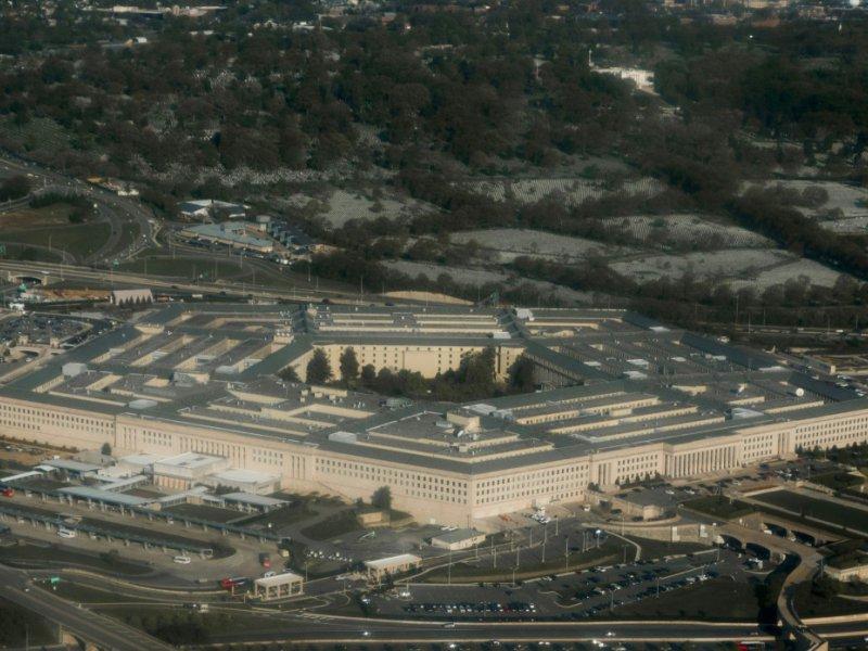 Le Pentagone à Arlington, le 23 avril 2015 - SAUL LOEB [AFP]