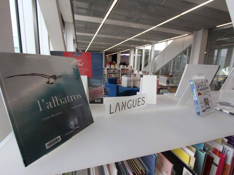 Le dernier étage de la bibliothèque est entièrement dédié au monde de l'enfance. Bibliothèque Alexis de Tocqueville à Caen. 13 janvier 2017. - Maxence Gorréguès
