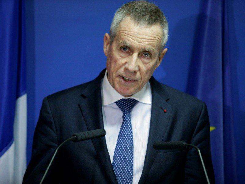 Le procureur Francois Molins lors d'un point de presse sur l'attaque au Louvre, le 3 février 2017 à Paris    GEOFFROY VAN DER HASSELT [AFP]