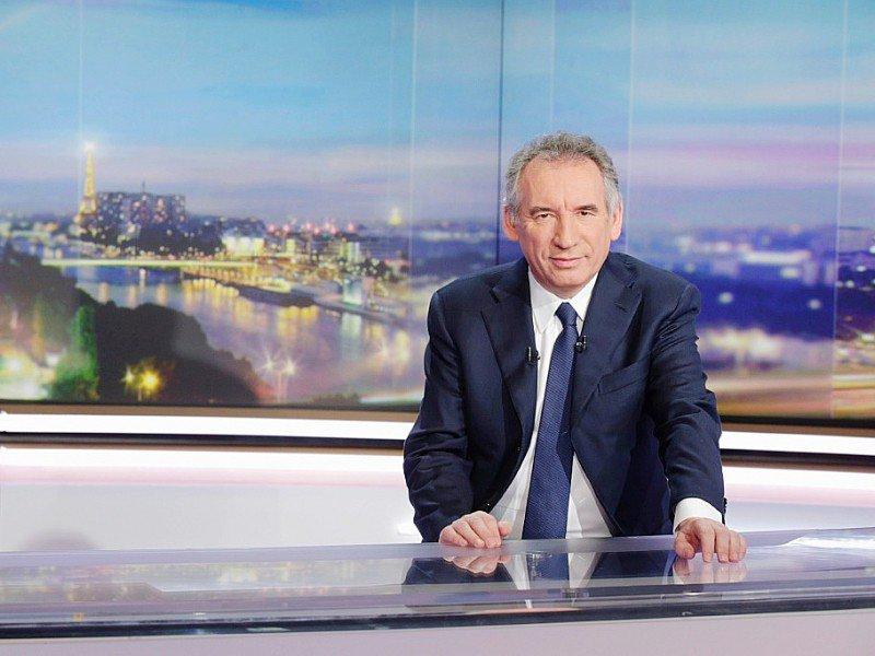 François Bayrou lors du journal de 20 heures de TF1, le 31 janvier 2017 à Boulogne-Billancourt    GEOFFROY VAN DER HASSELT [AFP]