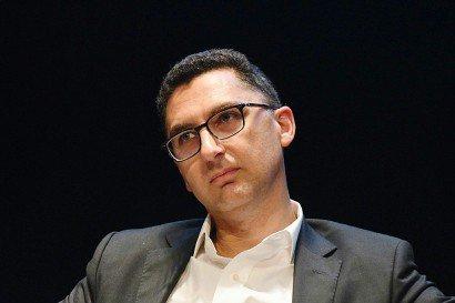 Le directeur général de Canal+, Maxime Saada, le 16 septembre 2016 à La Rochelle    XAVIER LEOTY [AFP]