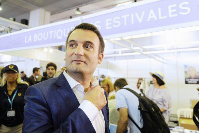 Florian Philippot à Fréjus (sud de la France), le 17 septembre 2016    Franck PENNANT [AFP/Archives]