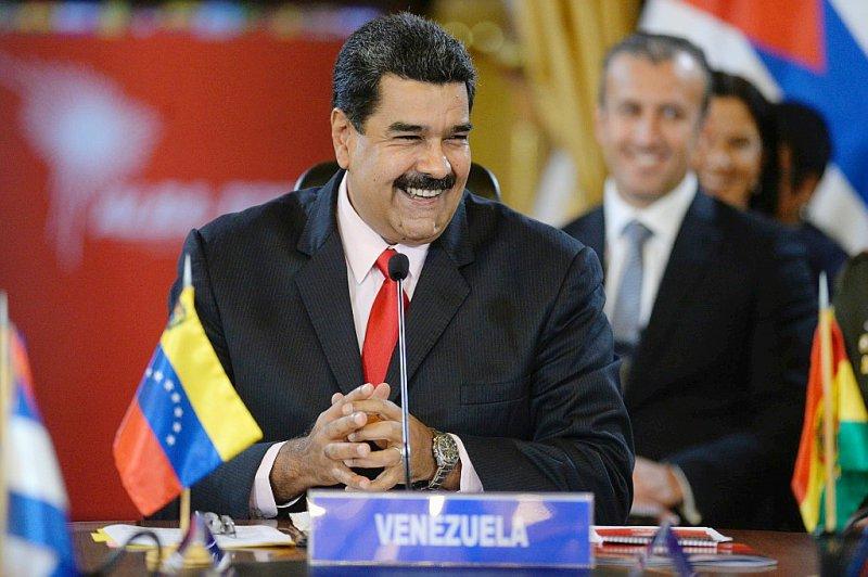 Nicolas Maduro, le 5 mars, à Caracas - FEDERICO PARRA [AFP/Archives]