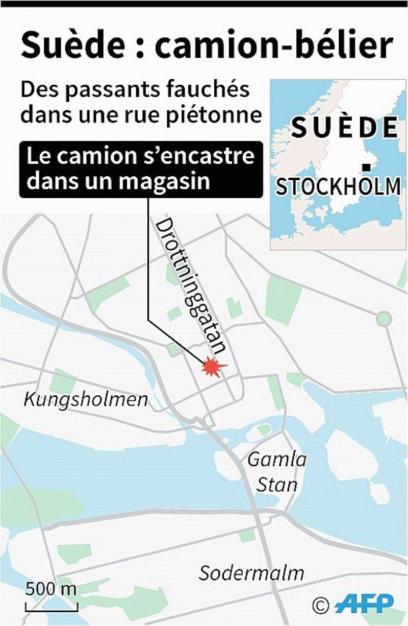 Suède : attaque au camion-bélier    Jochen GEBAUER, AFP [AFP]