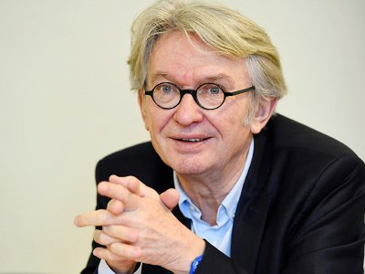 Jean-Claude-Mailly (FO) à Paris, le 29 mars 2017
