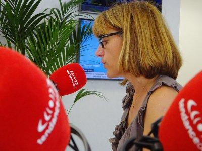 Isabelle Boscher lors du débat sur Tendance Ouest.    Eric Mas