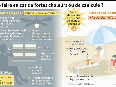 Que faire en cas de fortes chaleurs ou de canicule ? - Sophie RAMIS [AFP]