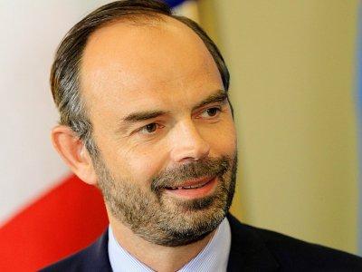 Le Premier ministre français Edouard Philippe lors d'une conférence de presse à Tallinn en Estonie le 28 juin 2017 - Petras Malukas [AFP]