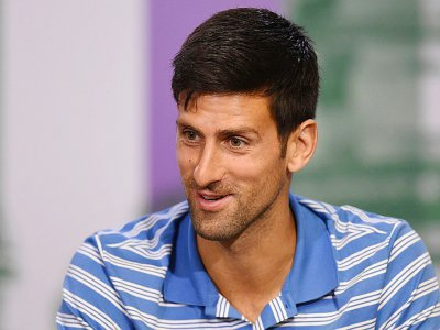 Le Serbe Novak Djokovic au All England Tennis Club de Wimbledon, près de Londres, le 2 juillet 2017 - Joe Toth [POOL/AFP]