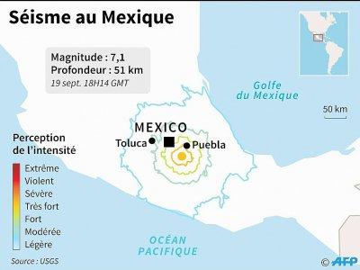 Tremblement de terre au Mexique - Nicolas RAMALLO [AFP]