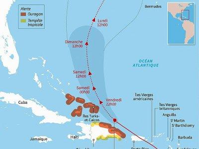 L'ouragan Maria - Sabrina BLANCHARD [AFP]