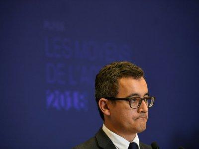 Le ministre des Comptes publics Gérald Darmanin, le 28 septembre 2017 à Paris - Lionel BONAVENTURE [AFP/Archives]