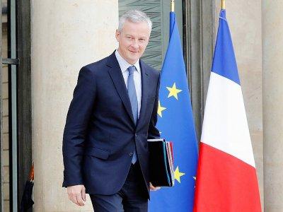 Le ministre français de l'Economie Bruno Le Maire, à Paris le 4 octobre 2017    FRANCOIS GUILLOT [AFP]