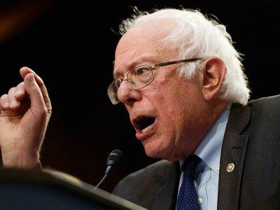 Le sénateur du Vermont Bernie Sanders, lors d'une session au Sénat à Washington le 13 septembre 2017    JIM WATSON [AFP]