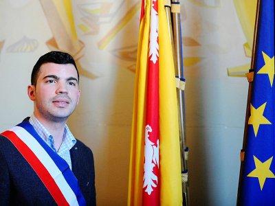 Ancien de Lutte ouvrière, Fabien Engelmann est aujourd'hui maire FN d'Hayange (Est) et conseiller régional Grand Est    JEAN-CHRISTOPHE VERHAEGEN [AFP/Archives]