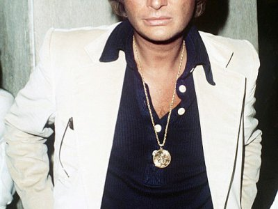 Johnny Hallyday le 6 mai 1976 à Paris