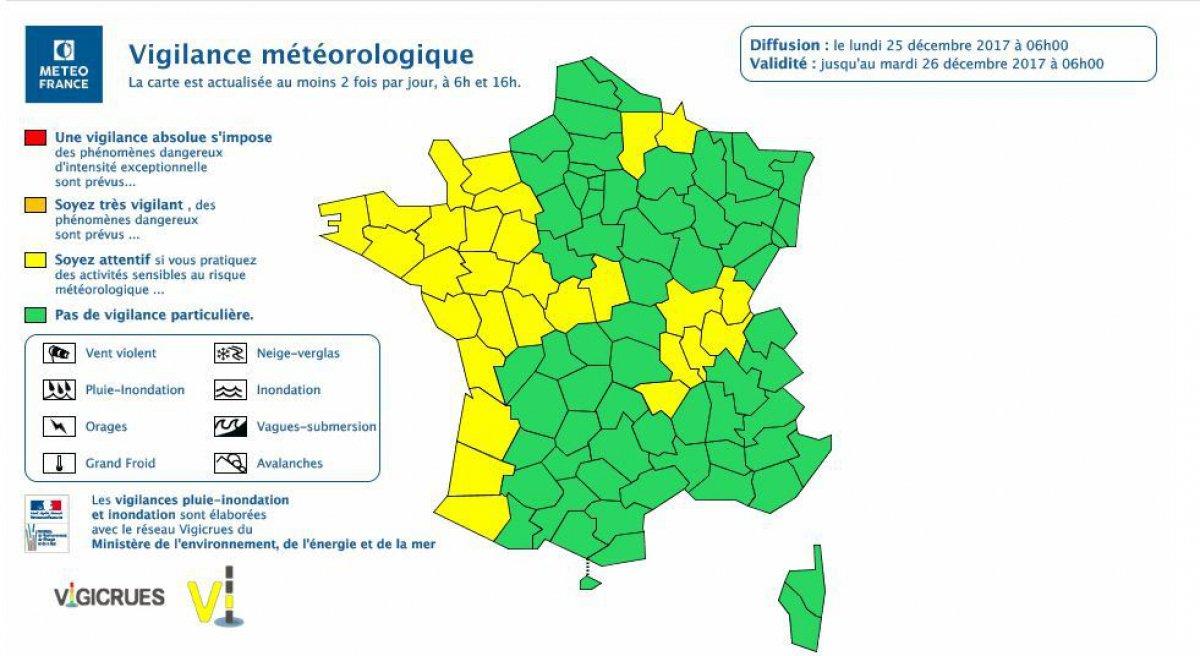 Orages et vents violents : la Normandie placée en vigilance jaune