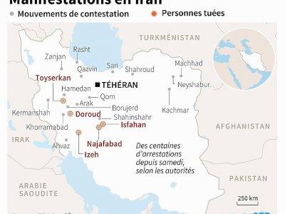 Manifestations en Iran    Gal ROMA [AFP]