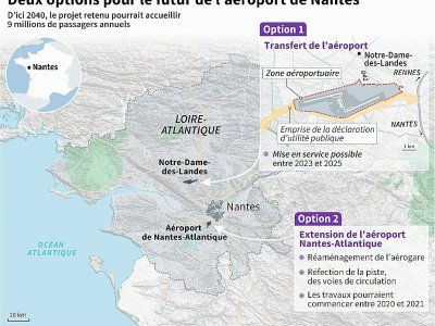 Deux options pour le futur de l'aéroport de Nantes    Simon MALFATTO [AFP]