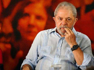L'ancien président brésilien Lula, le 25 janvier 2018 à Sao Paulo    Nelson Almeida [AFP]