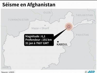 Séisme en Afghanistan    John SAEKI [AFP]