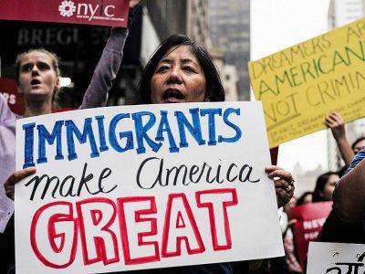 L'immigration est au coeur des tractations budgétaires au Congrès à Washington - Jewel SAMAD [AFP/Archives]