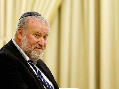 Photo du procureur général israélien Avichai Mandelblit, prise le 19 juillet 2017 à Jérusalem    GALI TIBBON [AFP/Archives]