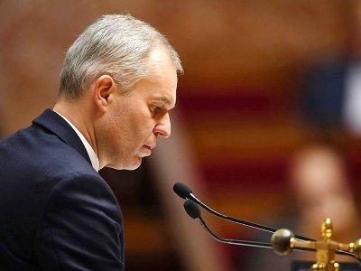 Le président de l'Assemblée nationale François de Rugy lors d'une séances de questions au gouvernement le 7 février 2018 à Paris - Eric FEFERBERG [AFP/Archives]