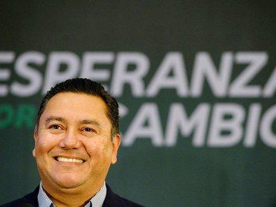 Javier Bertucci, le 21 février 2018 à Caracas    FEDERICO PARRA [AFP]